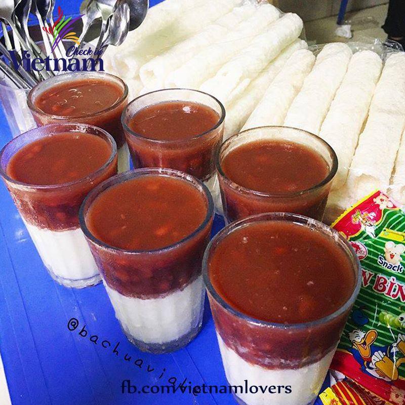 Sữa chua đậu đỏ Kim Giang