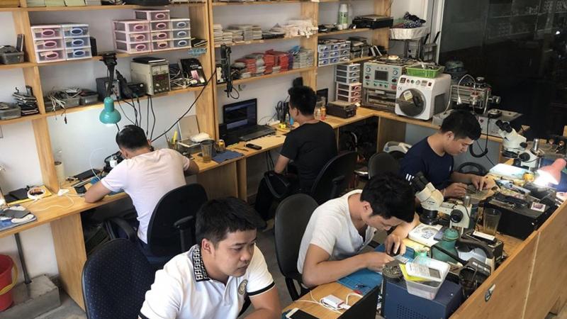 Cửa hàng sửa điện thoại Gia Bảo mobile.