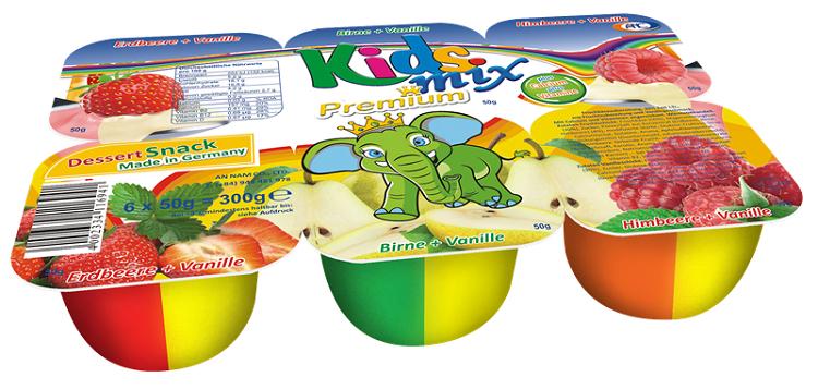 Sữa chua hoa quả Kid Mix