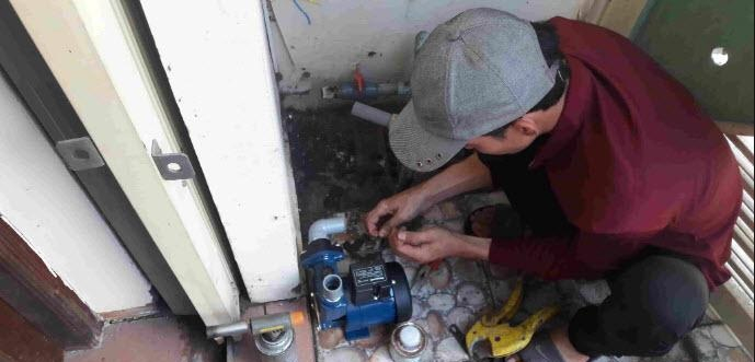 Sửa chữa máy bơm nước Minh Hằng