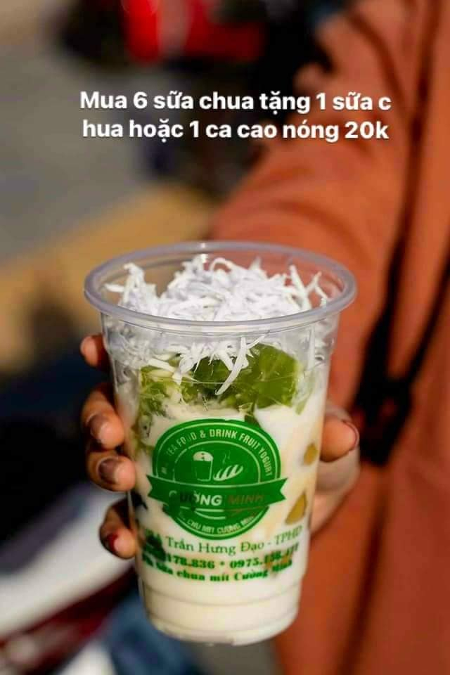 Sữa Chua Mít Cường Minh