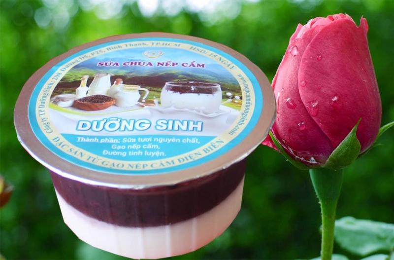 Sữa chua Nếp Cẩm Dưỡng Sinh