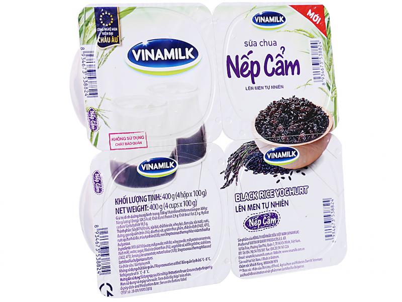 Sữa chua nếp cẩm Vinamilk