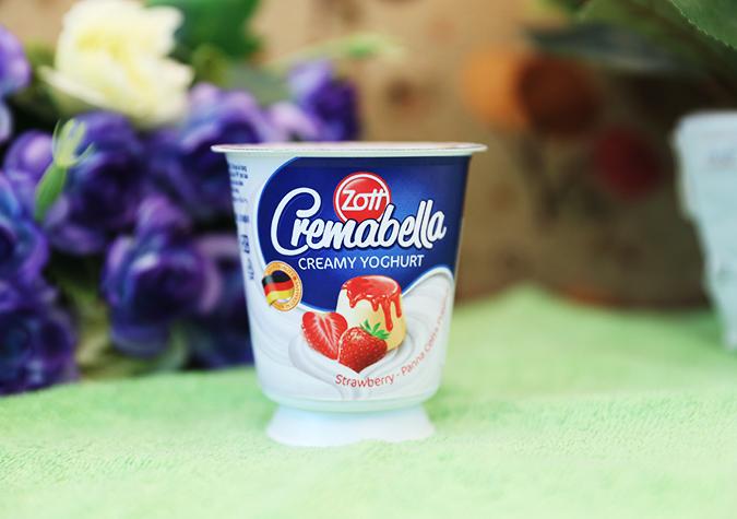 Sữa chua nguyên kem Creamabella Zott