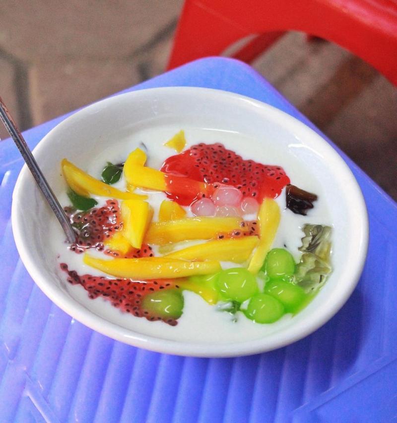 Sữa chua mít tại Gia đình trái cây