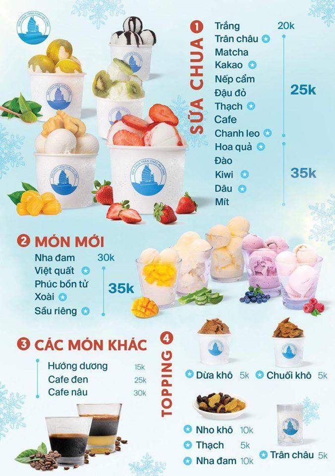 Sữa chua trân châu Hạ Long