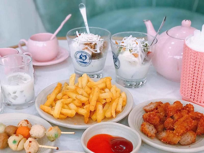 Sữa Chua Trân Châu Houjicha