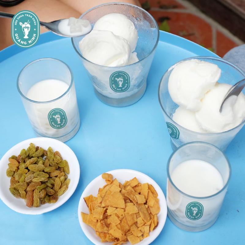 Sữa chua trân châu Quảng Ninh