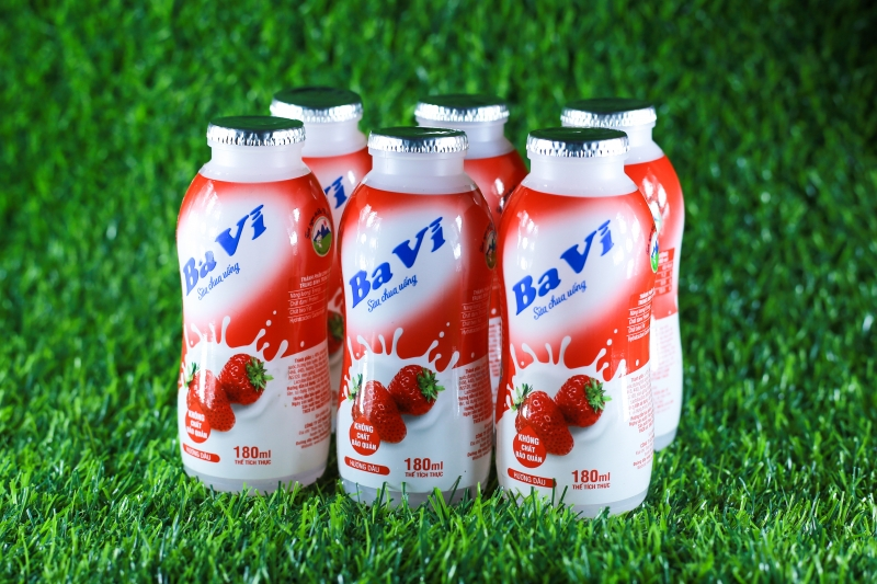 Sữa chua uống Ba Vì hương dâu