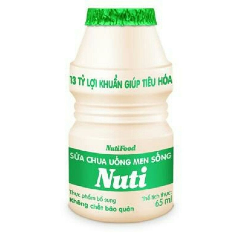 Sữa chua uống men sống Nuti
