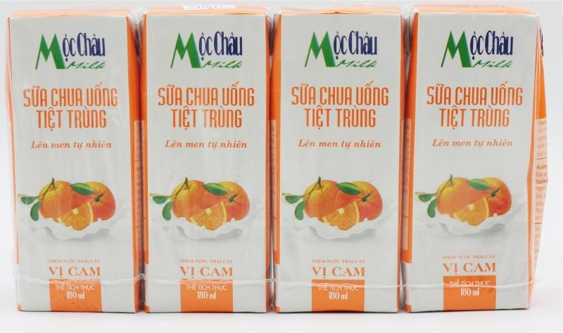 Sữa chua uống tiệt trùng Mộc Châu