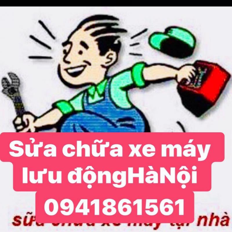 Sửa chữa xe máy lưu động Hà Nội 24h