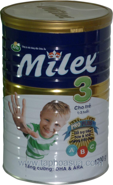 Sữa công thức Milex - Đan Mạch