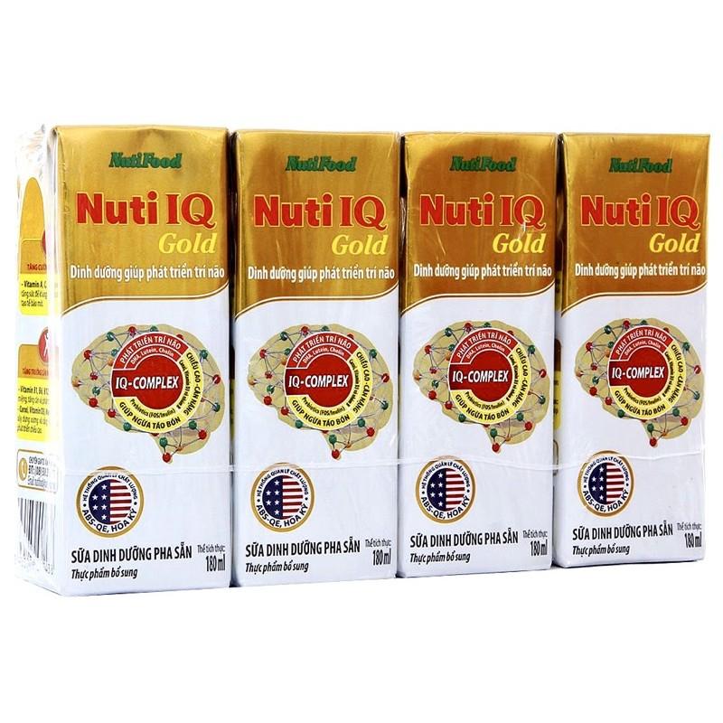 Sữa công thức pha sẵn Nuti IQ Gold