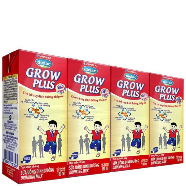 Sữa công thức pha sẵn Vinamilk Dielac Grow Plus