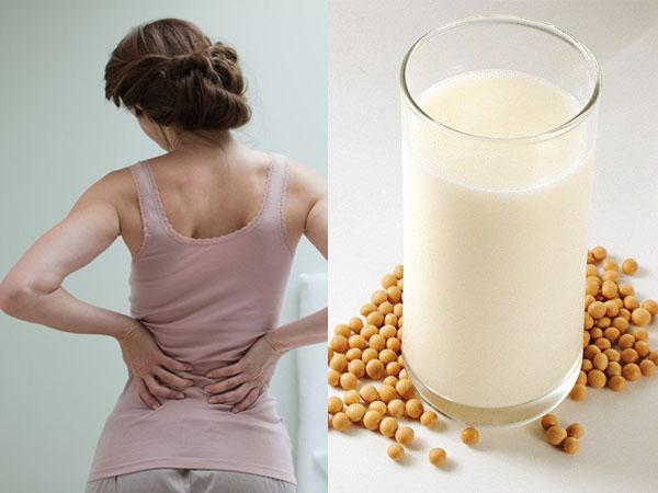 Sữa đậu phòng loãng xương