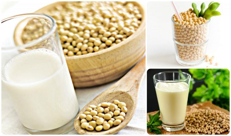 Cốc sữa đậu nành