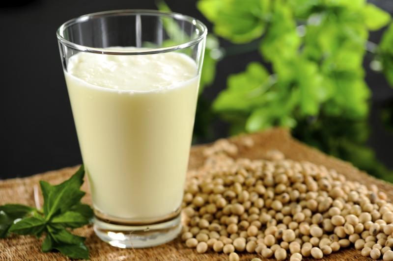 Sữa đậu nành gây tăng cân nếu uống nhiều