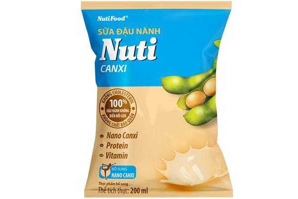 Sữa đậu nành Nuti Canxi