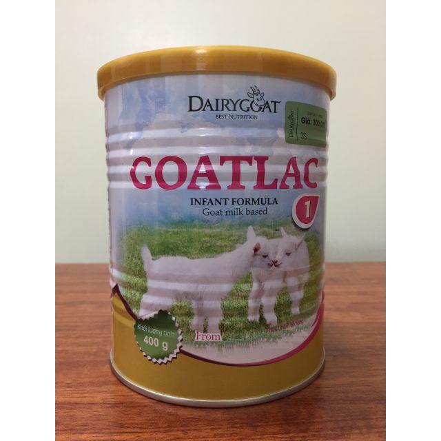 Sữa Dê Goatlac 1 400g (trẻ từ 0-6 tháng)
