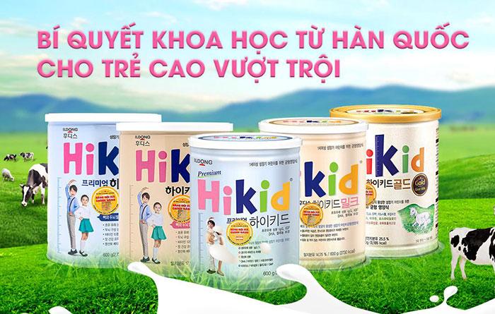 Sữa Dê Hikid Hàn Quốc