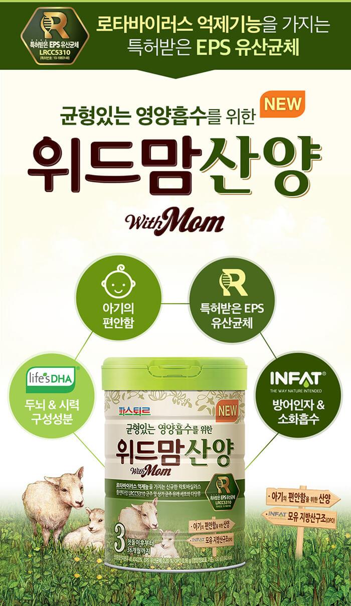 Sữa dê núi With Mom