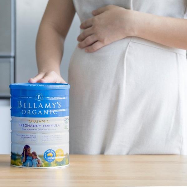 Sữa dinh dưỡng cho bà bầu Bellamy's Organic