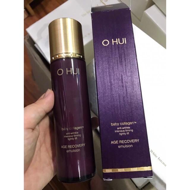 Sữa dưỡng chống lão hóa da Ohui Age Recovery Emulsion