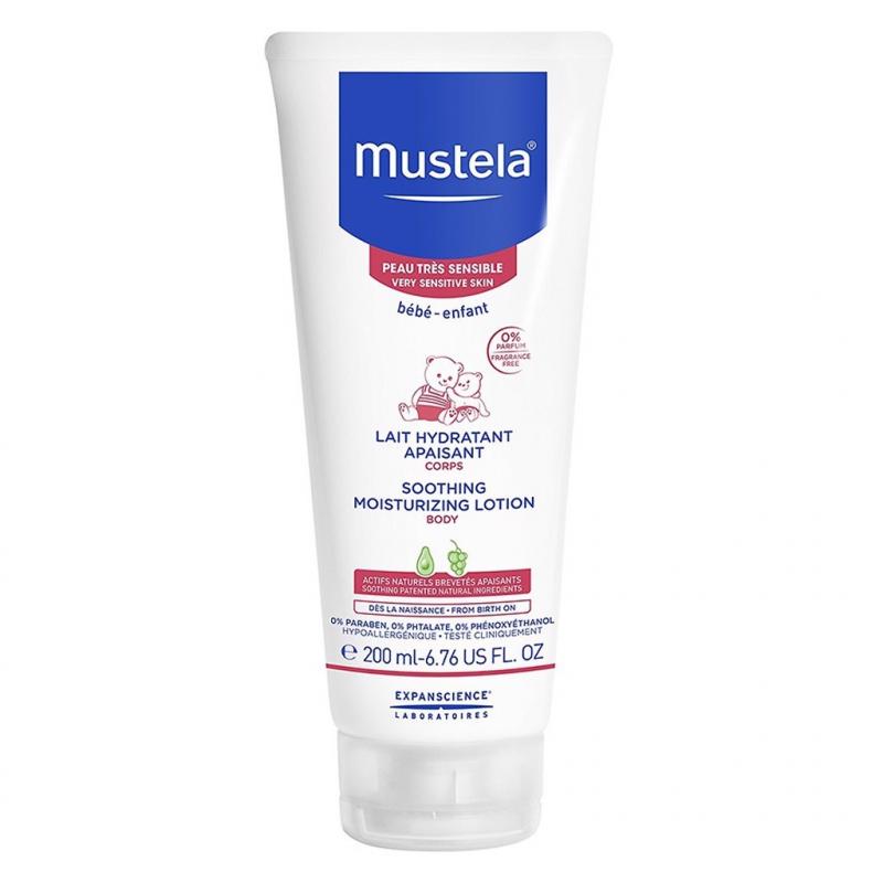 Sữa dưỡng da toàn thân cho bé có da nhạy cảm Mustela