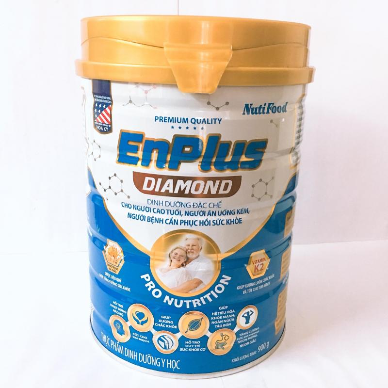Sữa EnPlus Diamond 900G Đặc Chế Cho Người Cao Tuổi