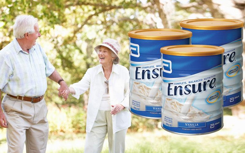 Ensure Gold tăng cường sức khỏe người già cực kỳ hiệu quả