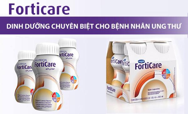 Sữa Forticare của Hãng Nutricia Hà Lan