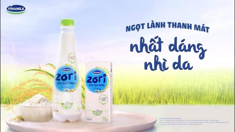 Sữa gạo Vinamilk Zori