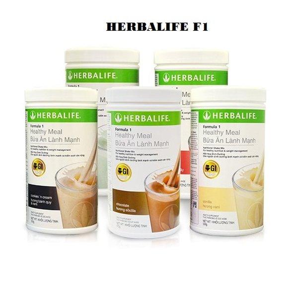 Sữa giảm cân Herbalife Healthy Meal F1 - bữa ăn lành mạnh