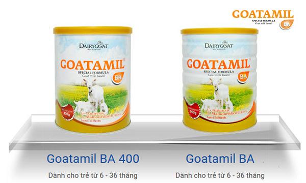 Sữa Goatamil BA