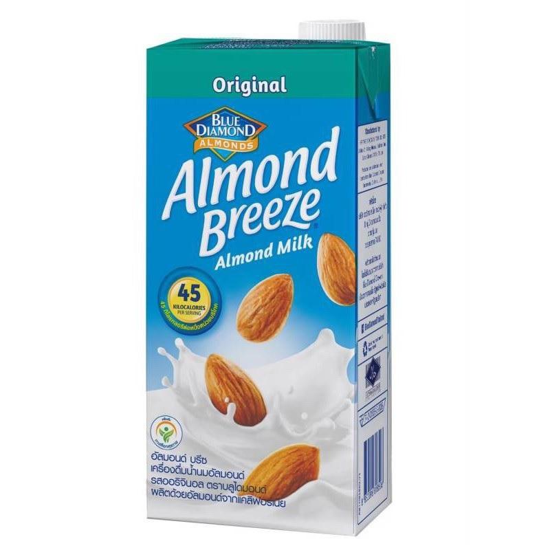 Sữa hạt hạnh nhân Almond Breeze không đường