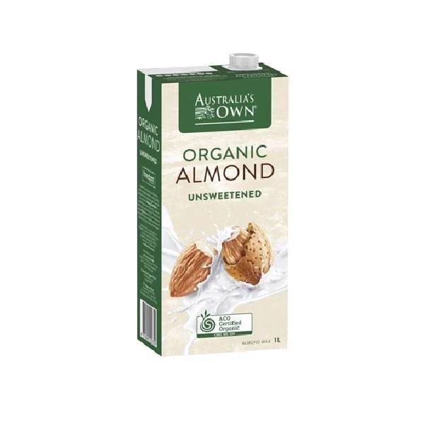 Sữa hạt hạnh nhân không ngọt Organic Australia's Own