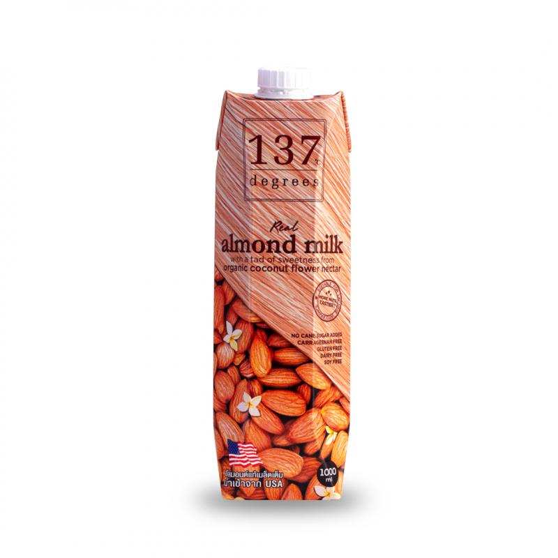 Sữa hạt hạnh nhân nguyên chất 137 DEGREES