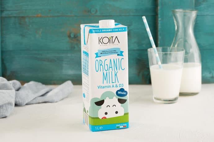 Sữa hữu cơ Koita