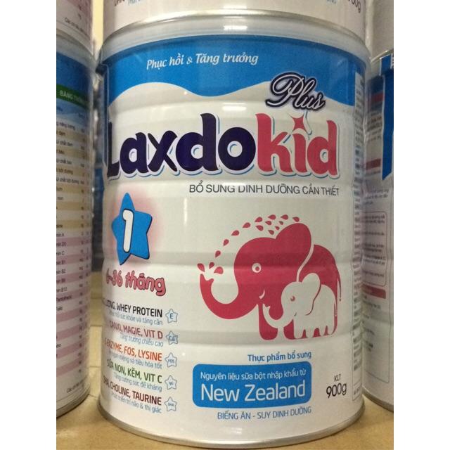 Sữa LaxdoKid tăng chiều cao