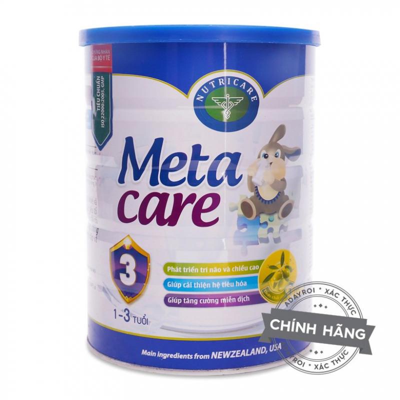 Sữa Meta Care 3+ Nutricare tăng chiều cao