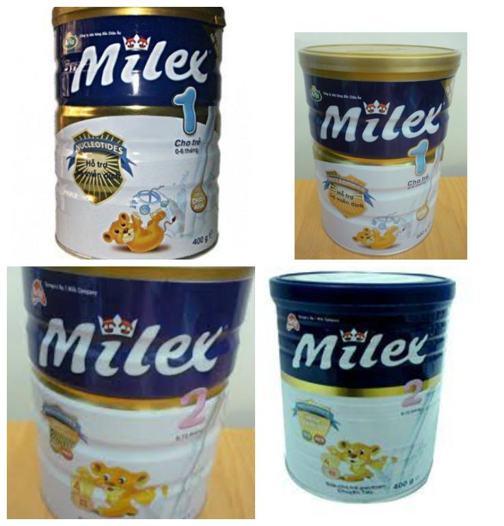 Sữa Milex  của Đan Mạch