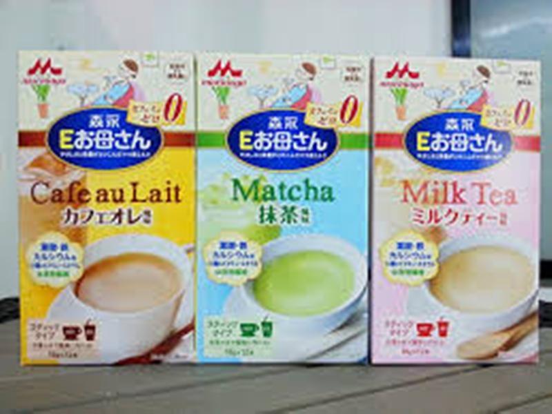Sữa Morigana có ba vị cho mẹ bầu lựa chọn