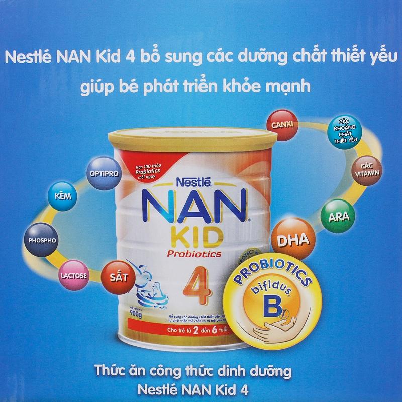 Cung cấp dưỡng chất thiết yếu giúp trẻ phát triển chiều cao.
