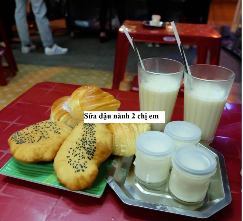 Sữa đậu nành 2 chị em