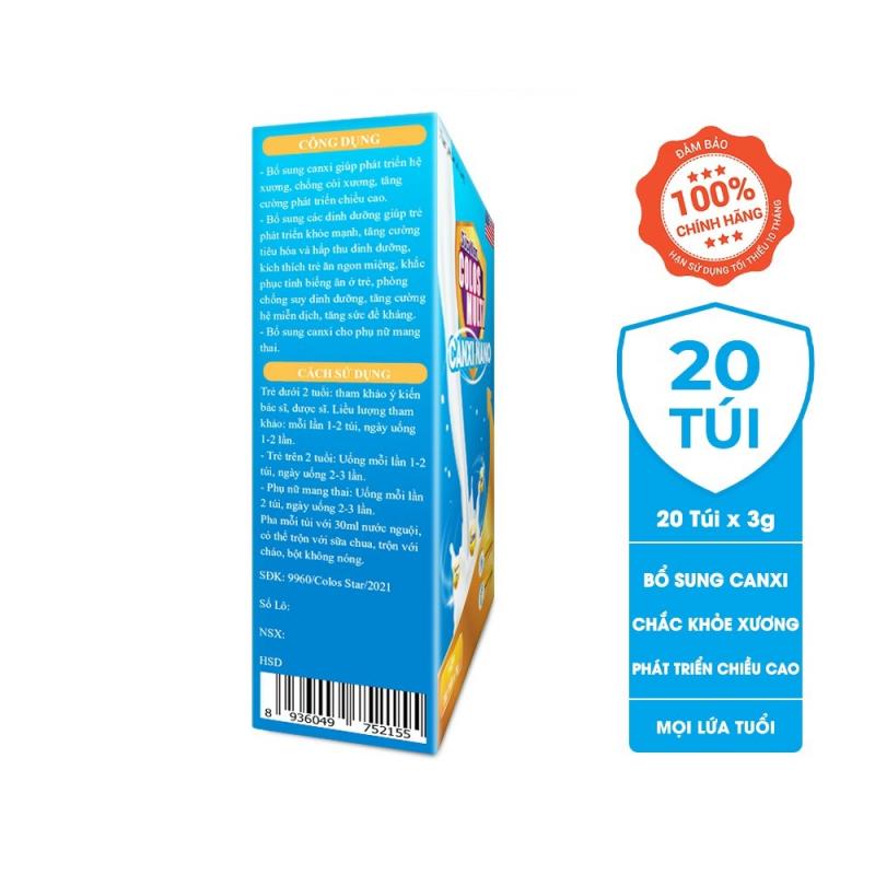 Sữa non Colosmulti Canxi Nano