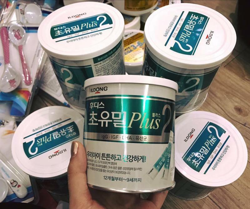 Sữa Non ILDONG số 2 Hàn Quốc lon 100 thanh/100g