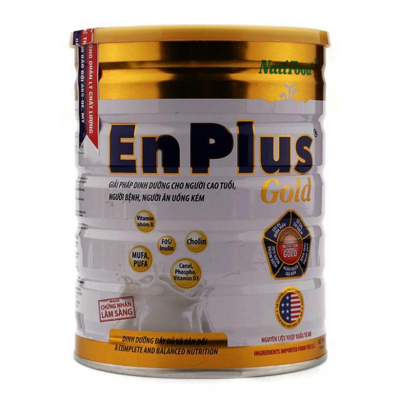 Sản phẩm sữa Nuti Enplus Gold