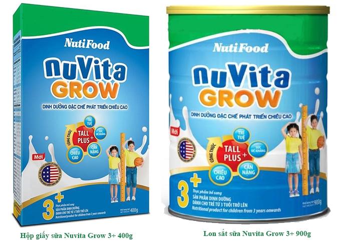 Sữa Nutiva Grow