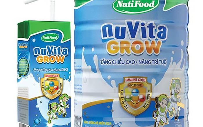 Sữa Nuvita Grow tăng chiều cao